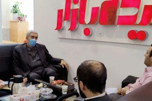بازدید مدیرکل دفتر توسعه فناوری وزارت بهداشت از فناوریهای حوزه سلامت برج فناوری دانشگاه صنعتی امیرکبیر